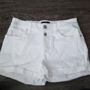 High-Waisted Express Shorts